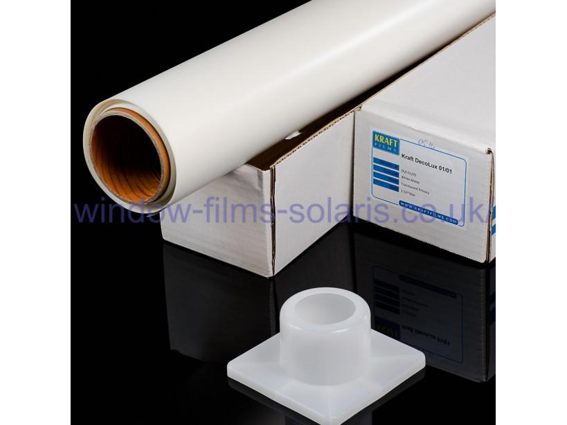 White Matte DLX-01/0 ROLL 1,52x30,5m